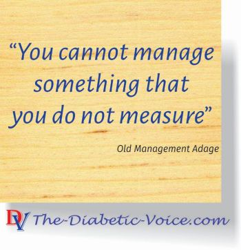 You must know what you are managing #Measure #manage #diabetes