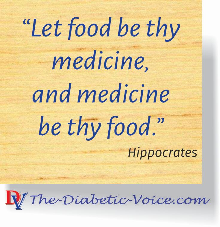 Let food be thy medicine, and medicine be thy food