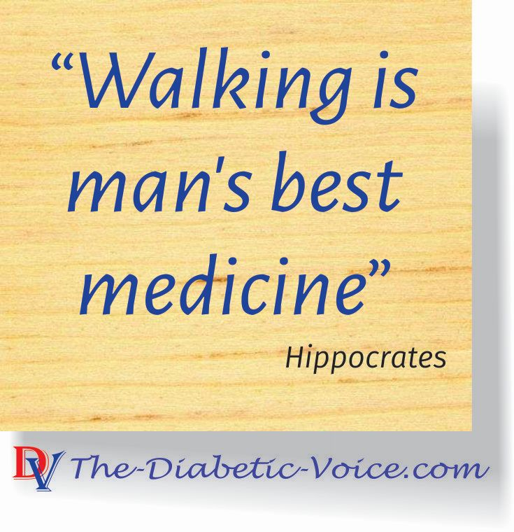 Hippocrates on the value of walking